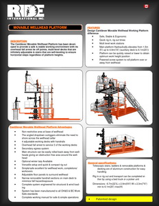 RIDE Inc's brochure features many more rigsite related safety products including lighting systems and more